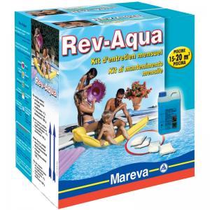 Rev aqua de mareva le traitement mensuel simplifi for Produit piscine mareva