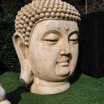 TETE BOUDDHA PATINE ANCIENNE VAISON LA ROMAINE