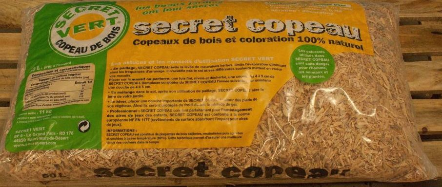 secret copeaux naturel 50l. Black Bedroom Furniture Sets. Home Design Ideas