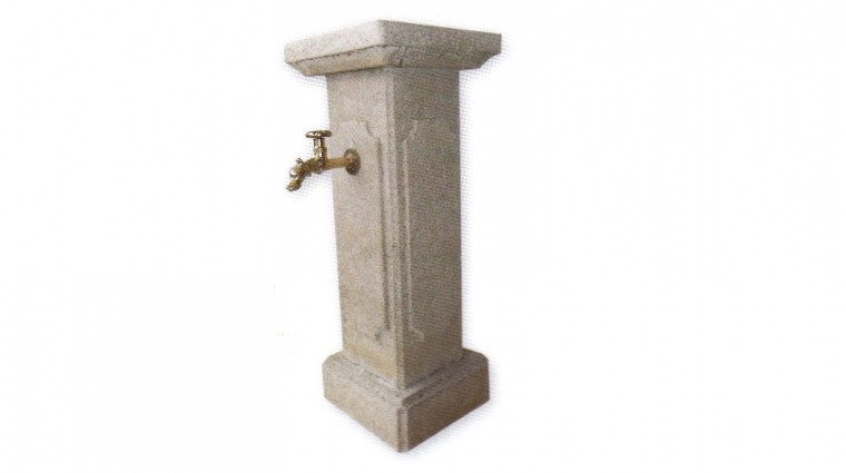 Fontaine point d 39 eau m nestrel en pierre reconstitu - Point d eau dans le jardin ...