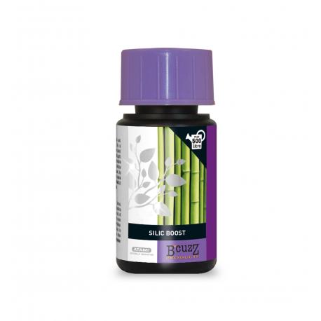 Silic Boost est un complément alimentaire végétal qui s'utilisera en croissance et en floraison. Silic Boost régule et améliore l'absorption des nutriments. Il est compatible avec les systèmes d'irrigation et la vaporisation foliaire.